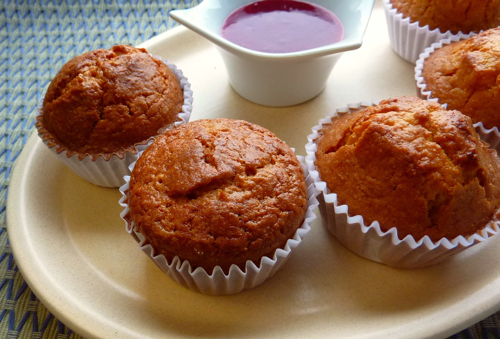 Receta: Cupcakes de elote maiz choclo