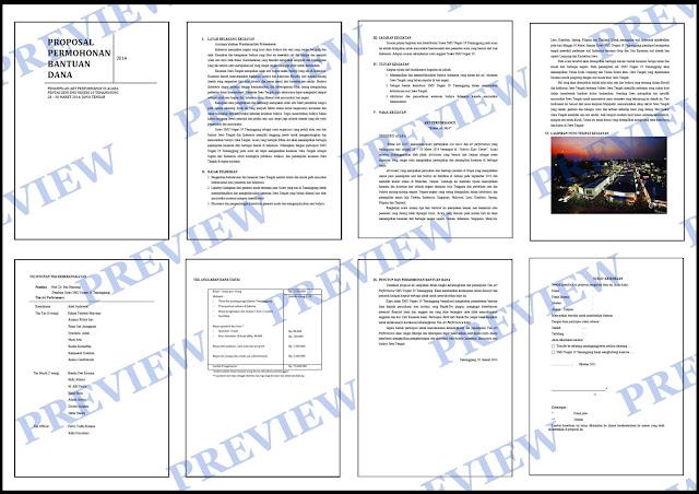 Contoh Proposal Permohonan Bantuan Dana Kesenian - KUMPULAN SURAT ...