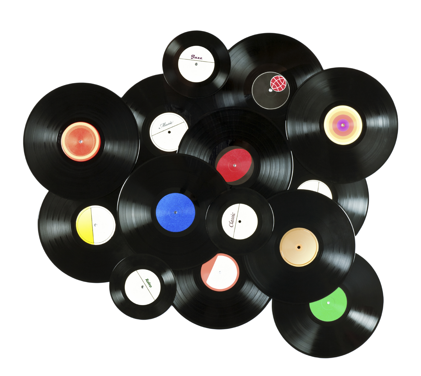 80s music addict - Decoration disque vinyle ...