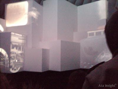 Exhibición de proyecciones Tecnópolis