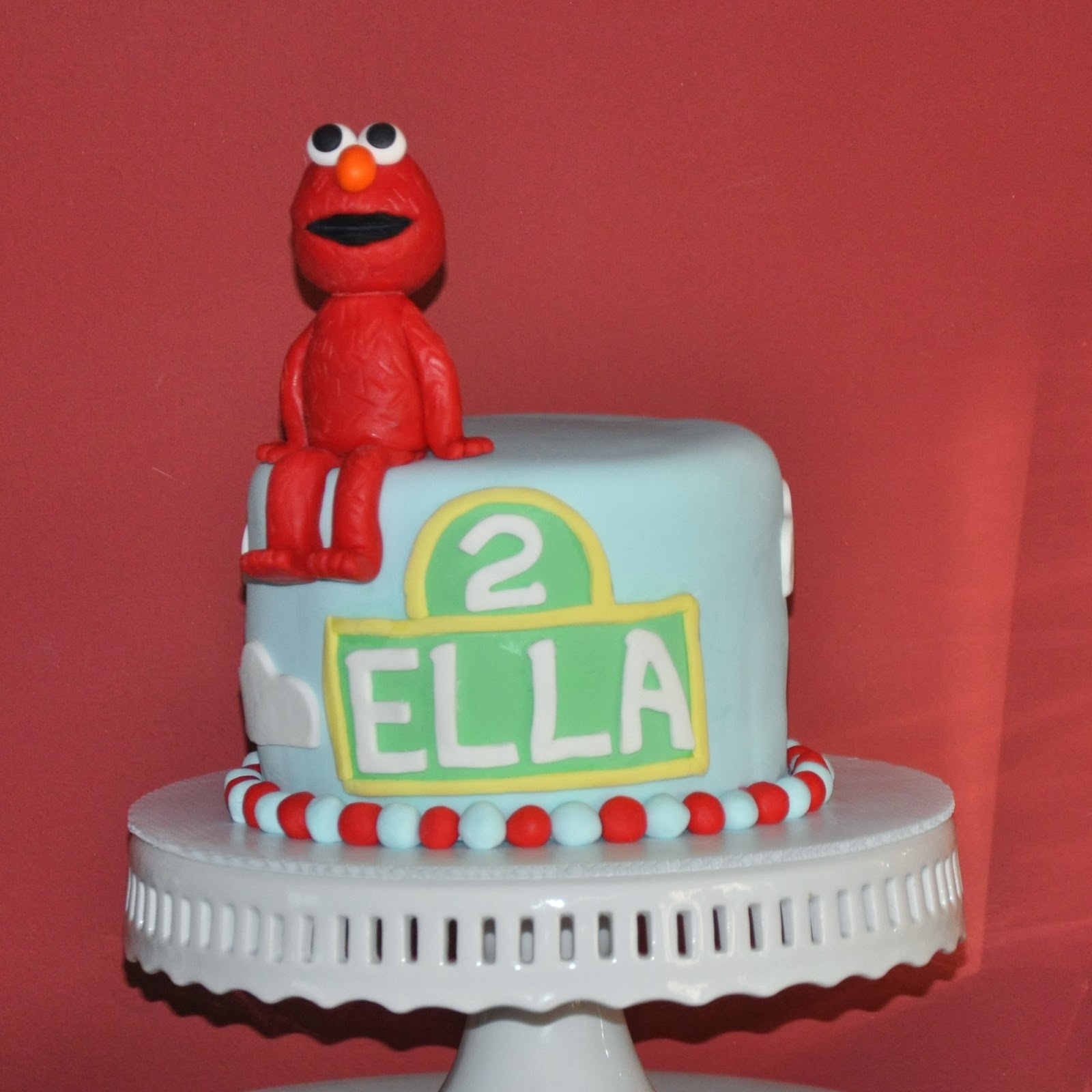 Some of the Best Things in Life are Mistakes Ellas Elmo Party