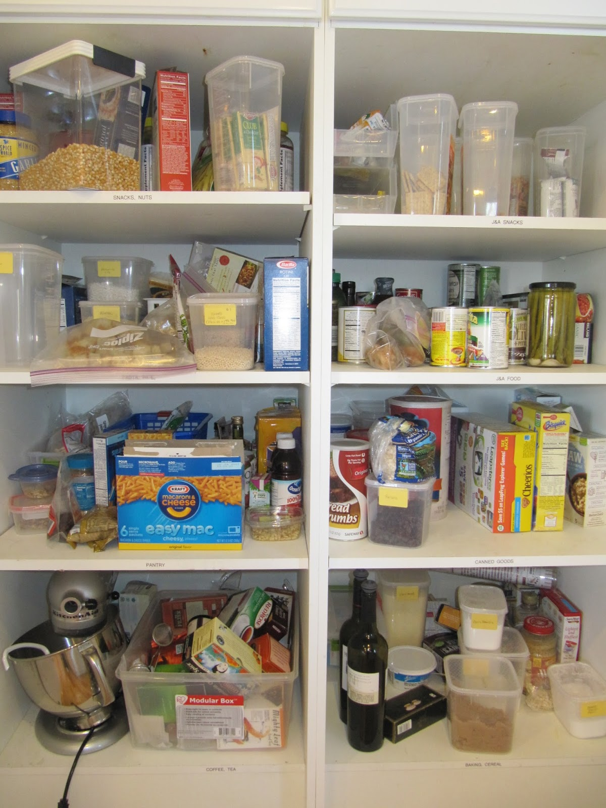 Organizing Kitchen Pantry Everyday Organizing An Organized Kitchen The Pantry Part I