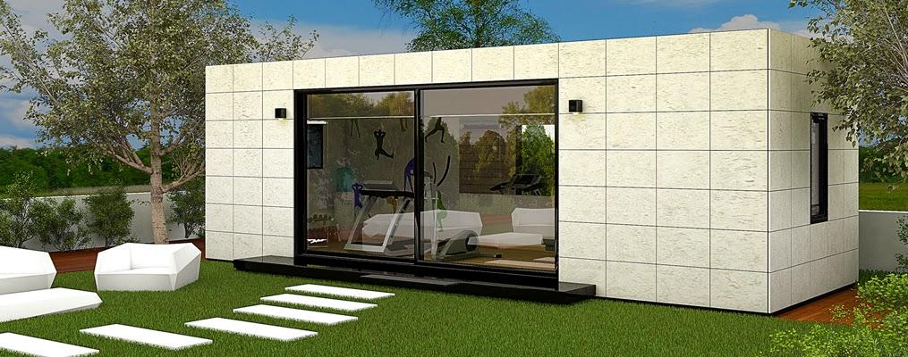 M ntate el gimnasio en casa con nuestros m dulos para jard n resan modular - Casa con gimnasio ...