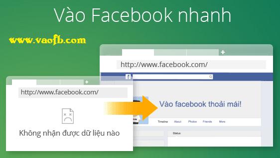 Vào Facebook dễ dàng với trình duyệt Cốc Cốc