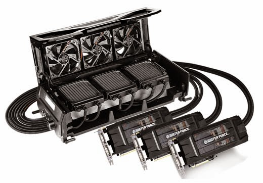 GIGABYTE GTX980 G1 Gaming WATERFORCE 3-Way SLI Kit