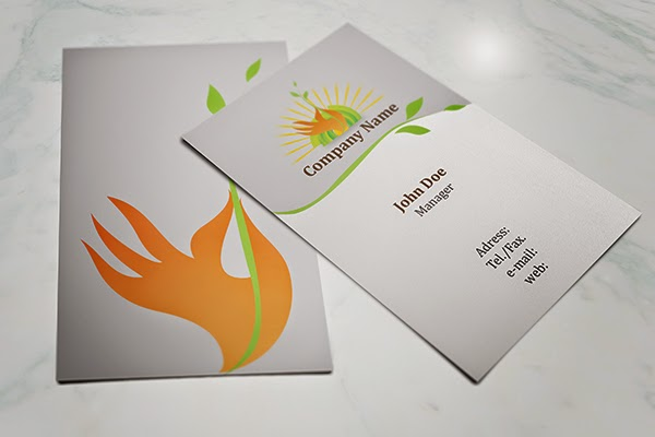 Eco Friendly Business Card Template