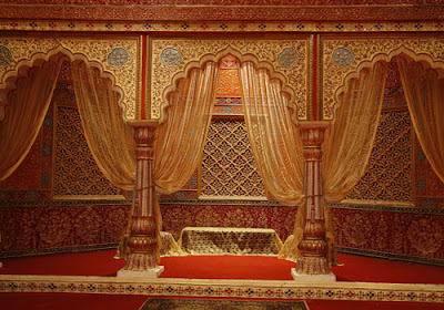 Bright colours are also used keeping in mind the Rajput Royalty's ...