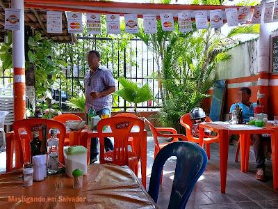 Bar das Meninas: Ambiente
