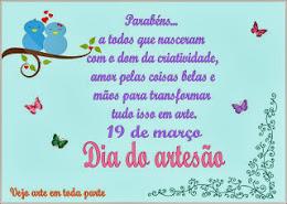 3º selinho - Dia do Artesão - 2013
