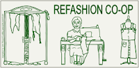 Find me at the Refashion Co-op!