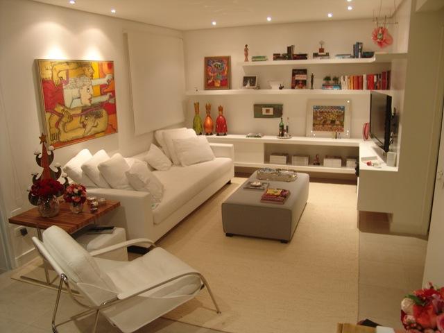 decorar sala branca:Decoracao Para Sala De Estar Pequena