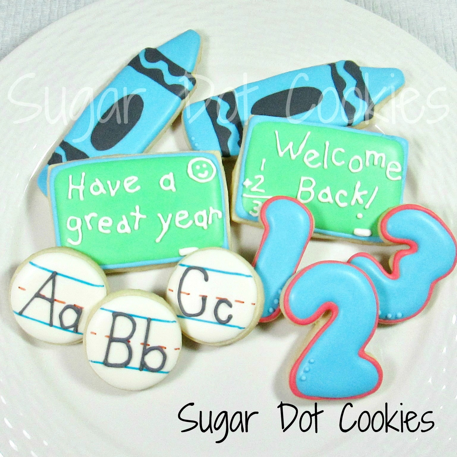 how to make writing icing for cookies