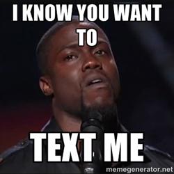 Kevin Hart Text Meme