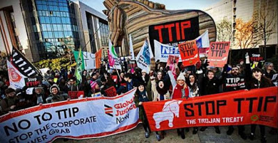 Διατλαντική Συμφωνία Εμπορίου, ο Δούρειος Ίππος των πολυεθνικών