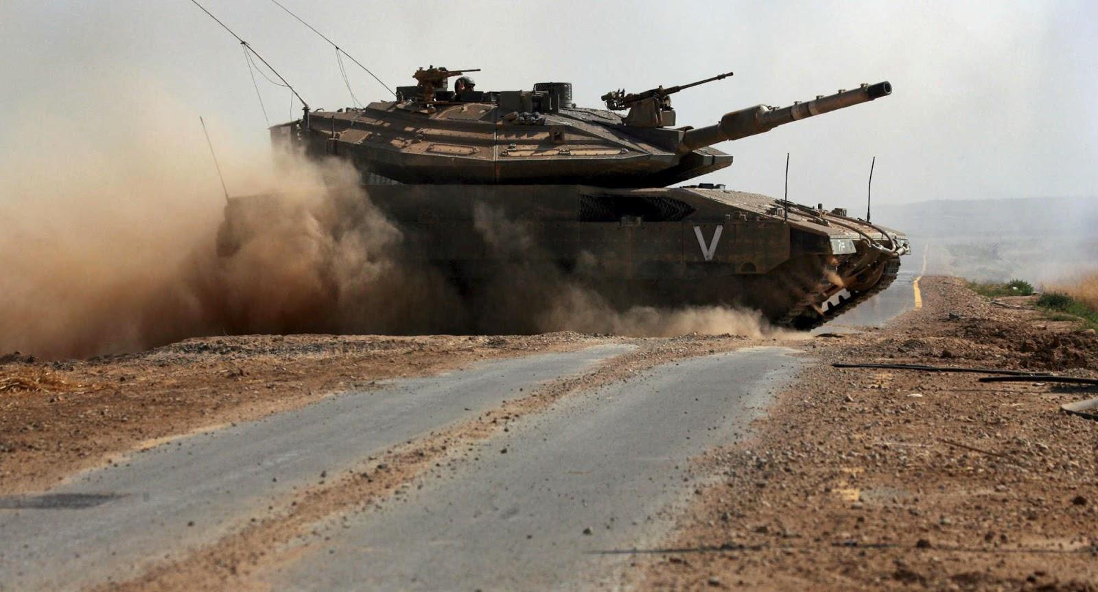 Papel de Parede Militar Tank