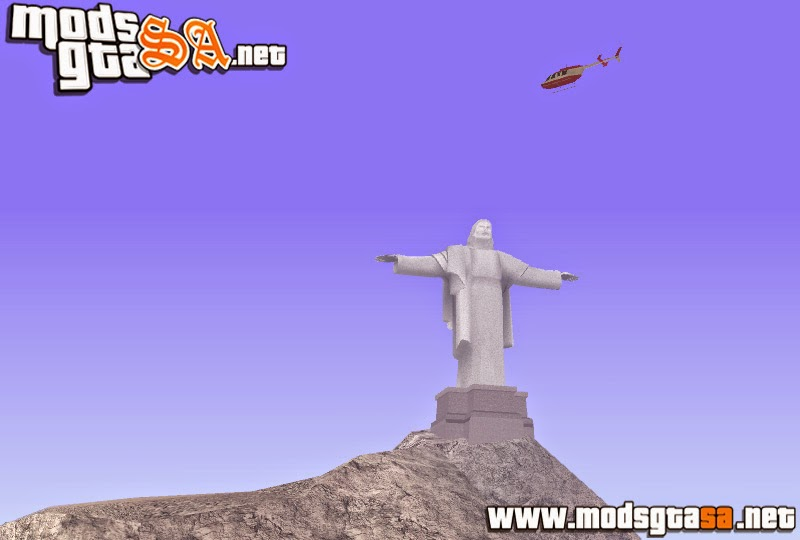 SA - Cristo Redentor no Mount Chilliad
