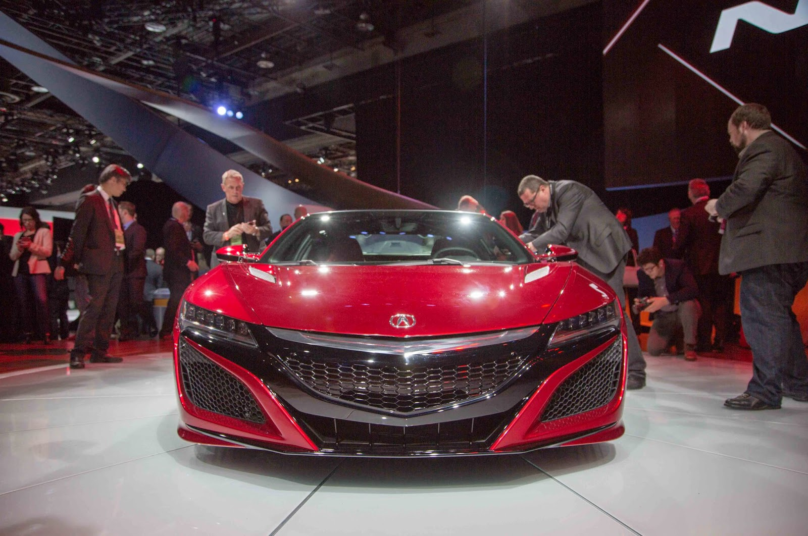 2016 Acura NSX Unveiled - AWD & Twin Turbo V6 Hybrid Included