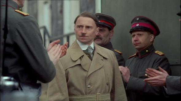a review of the film hitler 180 film: you like hitler you don't believe in god good chance you are pro-abortion then.