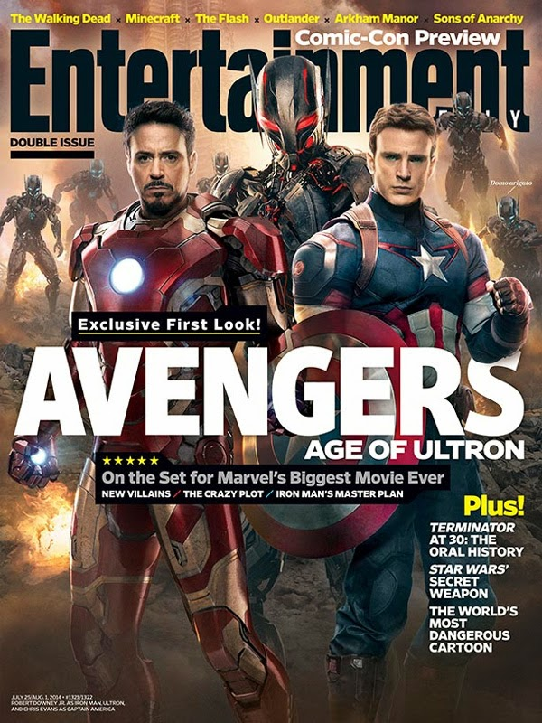 Here's the First Official Look of Ultron and Iron Man's New Armor for Avengers: Age of Ultron From Entertainment Weekly!