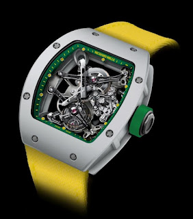Montre Richard Mille tourbillon Yohan Blake