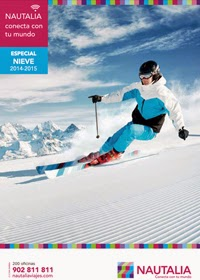 Catálogo viajes a la Nieve de Nautalia