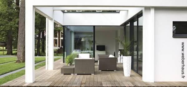 Arquitectura de casas sobre la construcci n en seco de for Viviendas sobre terrazas
