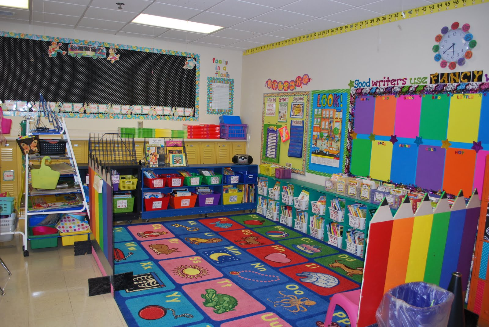 Classroom Decorating Ideas For Preschool : Mrs lee s kindergarten my sister second grade