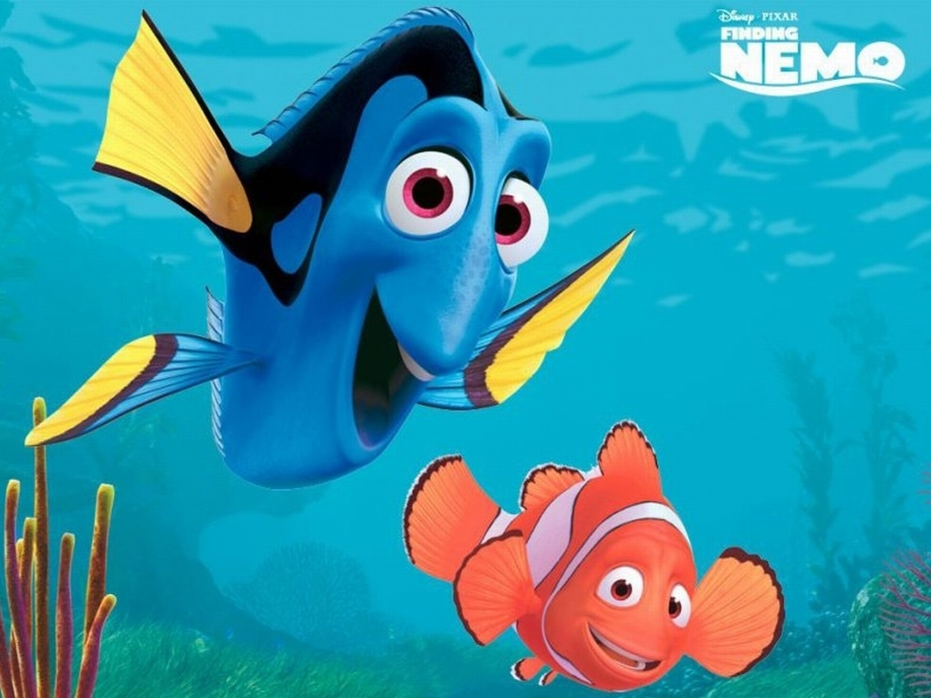 It's just a graphic of Geeky Free Finding Nemo