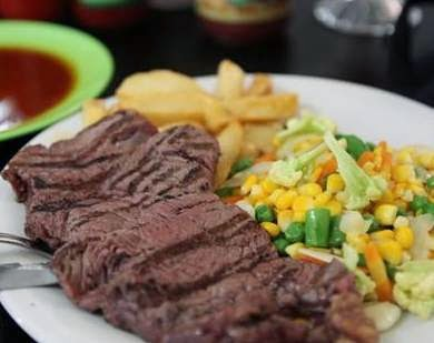 steak daging empuk