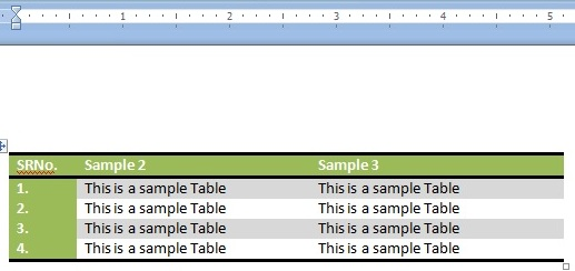 insert tables into blogger