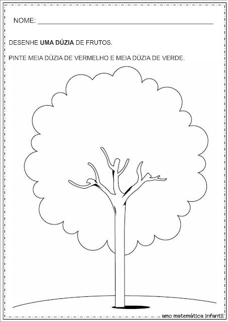 Dia da Árvore Dúzia e Meia Dúzia Atividades