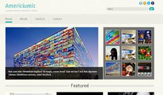 WordPress-Template Americiumic