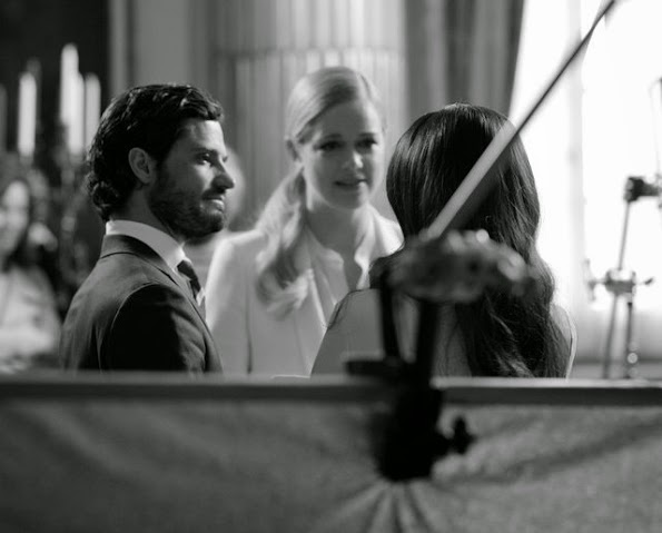 Interview With Prince Carl Philip And Sofia Hellqvist