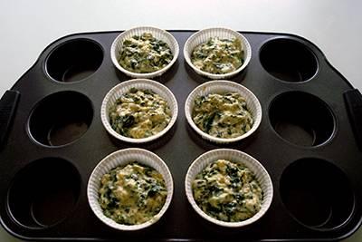 Muffin spinaci e feta 9