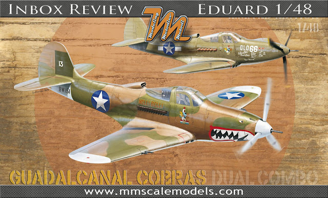 Eduard 1161 1/48 Bell P-39 Guadalcanal Cobras  - INBOX REVIEW