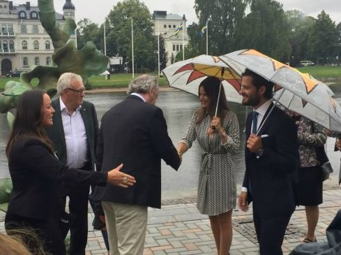 Princess Sofia of Sweden and Prince Carl Philip of Sweden (Duke and Duchess of Värmland)