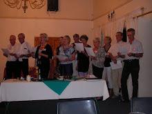 Swedish Rotarians Sing their National Anthem