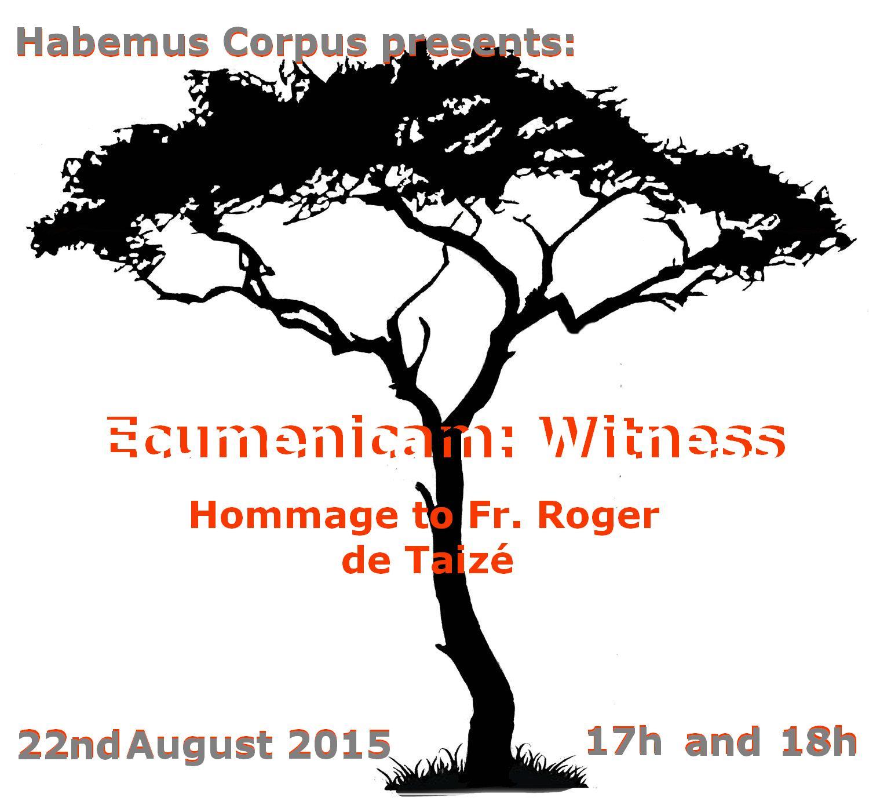 Ecumenicam: Witness