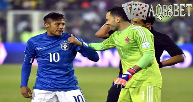 """Agen Bola AQ88bet - Neymar memang mempunyai peran vital untuk lini depan tim nasional Brasil saat ini. Carlos Dunga meminta agar """"Selecao"""" bisa segera menemukan cara bermain tanpa striker berusia 23 tahun itu."""
