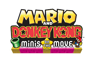 mario and donkey kong minis on the move logo Joystiq Review   Mario & Donkey Kong: Minis on the Move (3DS)