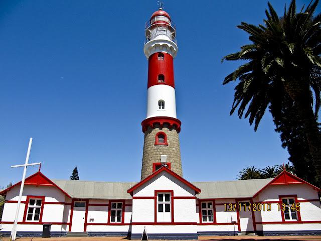 Swakopmund Lighthouse in Swakopmund, Namibia