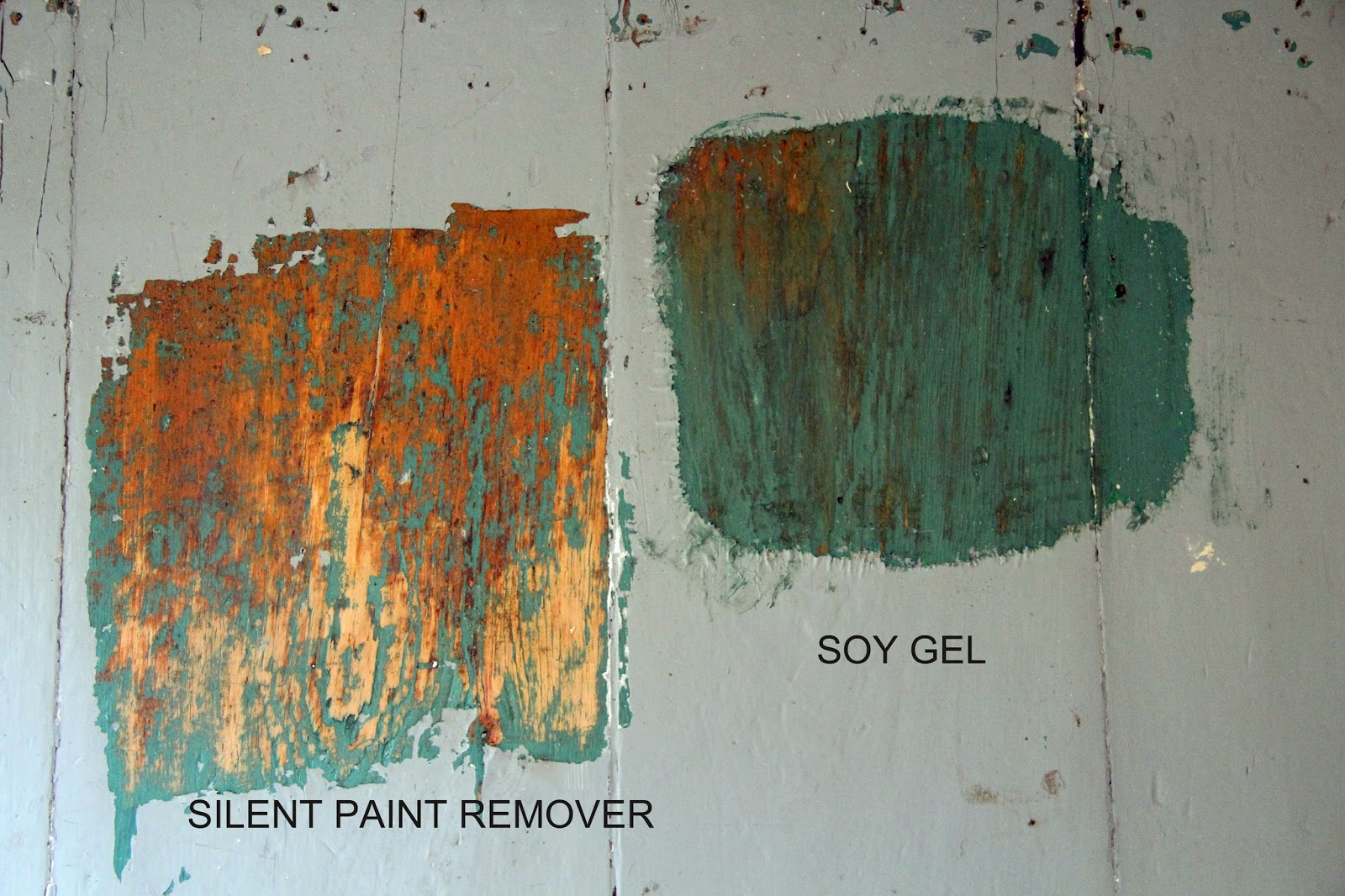 What necessary Soy based paint stripper
