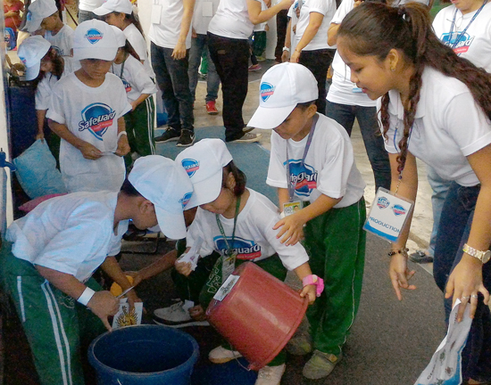 GLOBAL HANDWASHING DAY 2015 IN DAVAO CITY