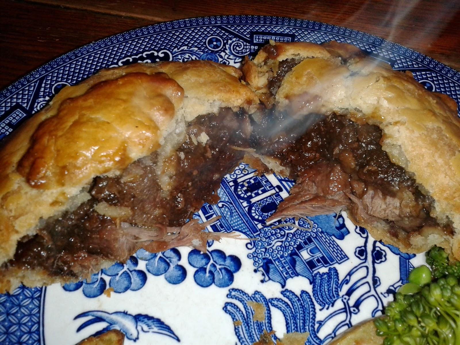 Dulverton Exclusive Cake Pie Cross section
