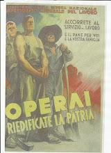 Agli operai si rivolge questo manifesto della RSI, pubblicato nel 1944