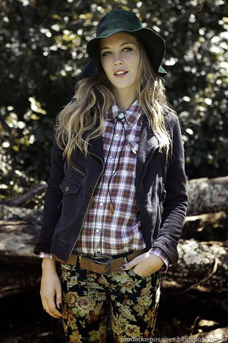 Moda jeans invierno 2013 camperas Cook.