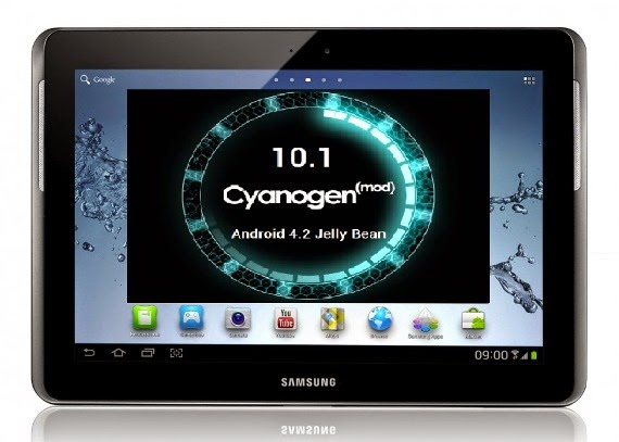 How To Make Update For Samsung Galaxy Tab 10.1 And Install Android 4.2.2 Jelly Bean Via CM10.1 Nightly ROM