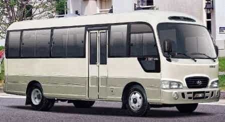 Cho thuê xe cưới Huyndai County 29 chỗ