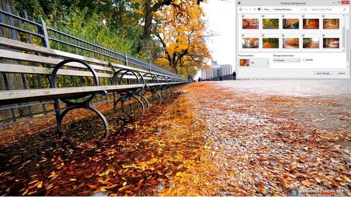لمحبى الهدوء الثيم الجميل لفصل الخريف لويندوز 8,بوابة 2013 1.bmp