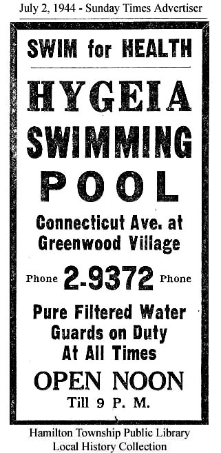 1944 Before It Became The Woodlawn Pool Investment Banking Blog Articles
